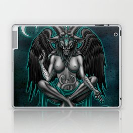 Baphomet (Teal) Laptop & iPad Skin