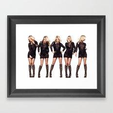 Britney Strike a Pose Framed Art Print