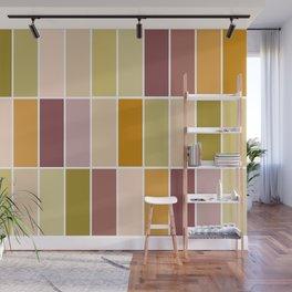 Earthy tiles Wall Mural
