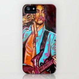 Purple Funk iPhone Case