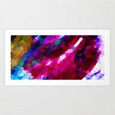 abstract colours II Art Print