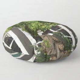 Forever green - Bremen Schnoorviertel Floor Pillow