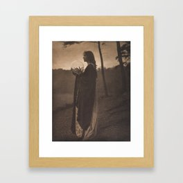 The Bubble by Clarence H. White, 1895 Framed Art Print