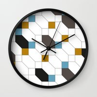 depeche mode Wall Clocks featuring Mode by blacknote