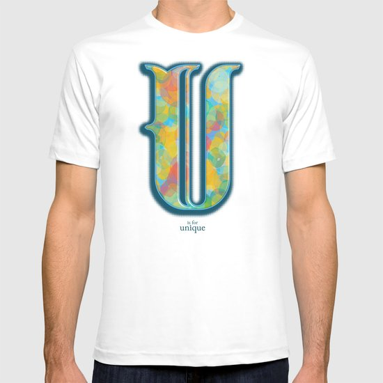 U is for Unique T-shirt