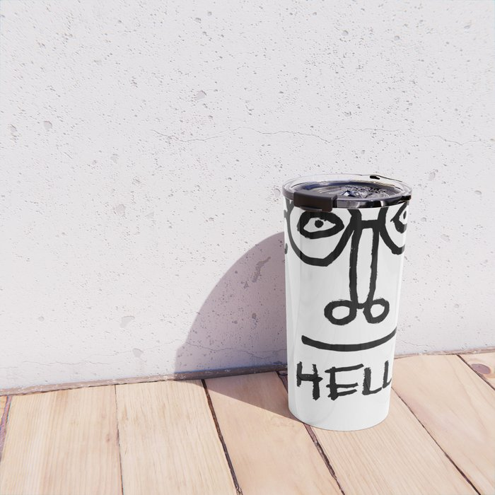 Hello Man Travel Mug