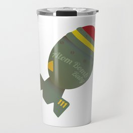 Atom Bomb Baby Travel Mug