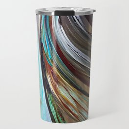 Peacock Trail Travel Mug