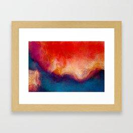 The Dissolve Framed Art Print