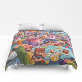 Terace BP soft colors Comforters