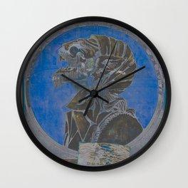Howl at the Moon Infared Wall Clock