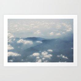 Mountains, Malaysia Art Print