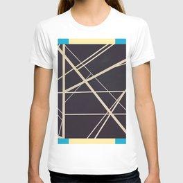 Crossroads - color frame T-shirt