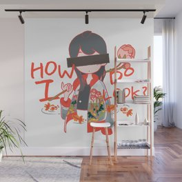 How do I look? Wall Mural