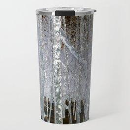 Winter Trees | Forest | Woods | Fantasy | Nadia Bonello | Canada Travel Mug