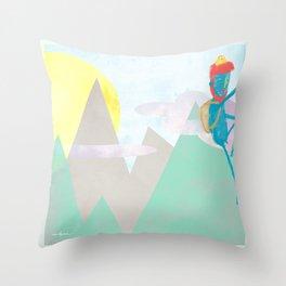 ESCALADA 01 Throw Pillow