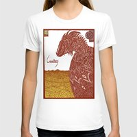 smaug T-shirts featuring Smaug and His Treasure by Hinterlund