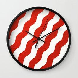 lignes peintes Wall Clock