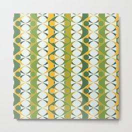 Pattern Retour Metal Print