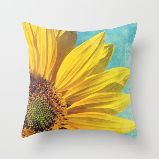pure sunshine Throw Pillow