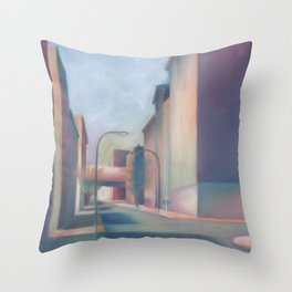 South Street Philadelphia Cityscape Throw Pillow