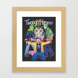 Twaughthammer - Breaking Bad Framed Art Print