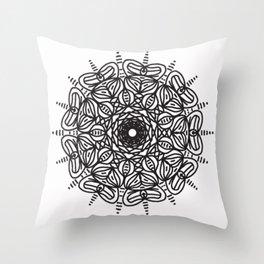 Spiral hand made 2 Throw Pillow