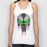 spawn Tank Tops featuring Punisher Spawn Mash-Up by Joshua Epling