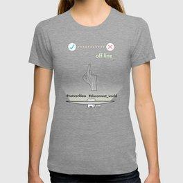 Off-line T-shirt