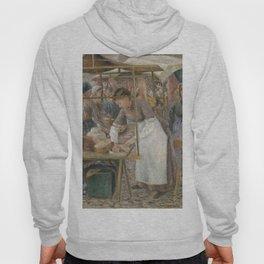 Camille Pissarro - The Pork Butcher Hoody