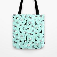 Safari Mint Tote Bag