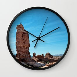 Arches Handstand Wall Clock