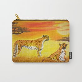 Tigers Sun Carry-All Pouch