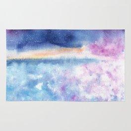 Blue Sky Illustration Rug