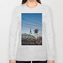 over smal trown the sunset Long Sleeve T-shirt