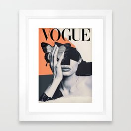 Magazine : Vintage 1950 Framed Art Print