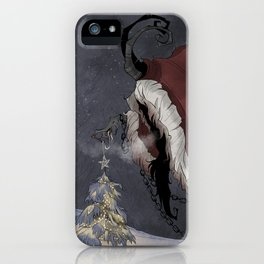 Krampus Christmas iPhone Case
