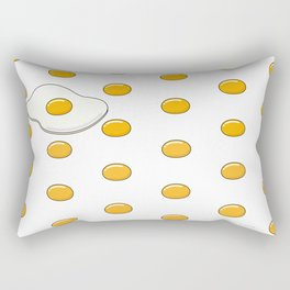 Sunny Side Up Polka Dots Rectangular Pillow