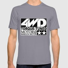 Torque Tuned SMALL Mens Fitted Tee Slate