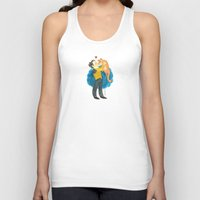 data Tank Tops featuring Data Hug by Super Group Hugs