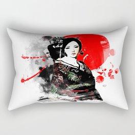 Kyoto Geisha Japan Rectangular Pillow