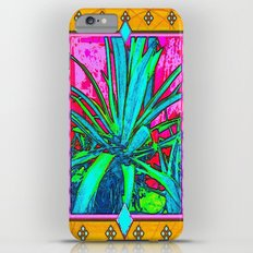 Tropical Foliage Western Style Abstract Slim Case iPhone 6 Plus