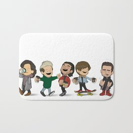 Schulz 1D Coffee Run Bath Mat