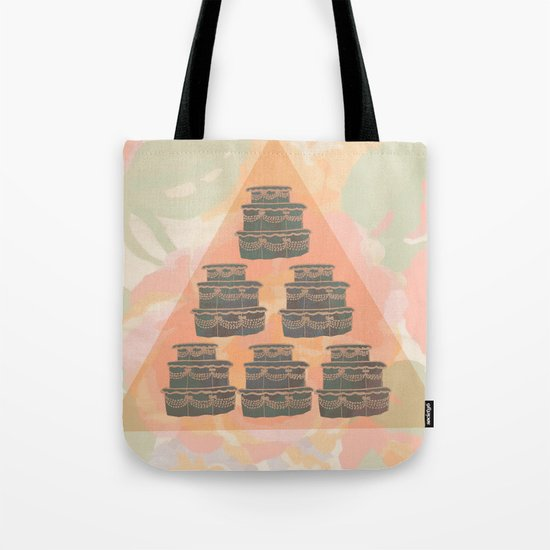 Cake and Flowers Tote Bag