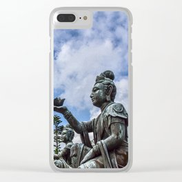 Of Humble offerings Clear iPhone Case