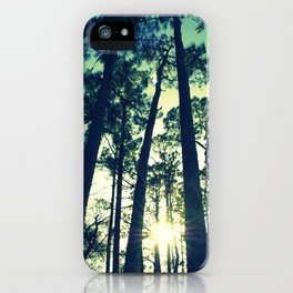 Towering Pines iPhone Case
