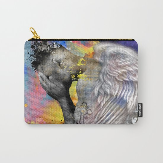 angel male nude Carry-All Pouch