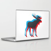 moose Laptop & iPad Skins featuring Moose by BMaw