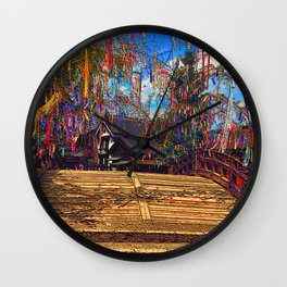 Tanabata, Evening of the seventh Wall Clock