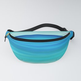 Abstract Seascape 11 Fanny Pack